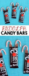 Christmas candy bars