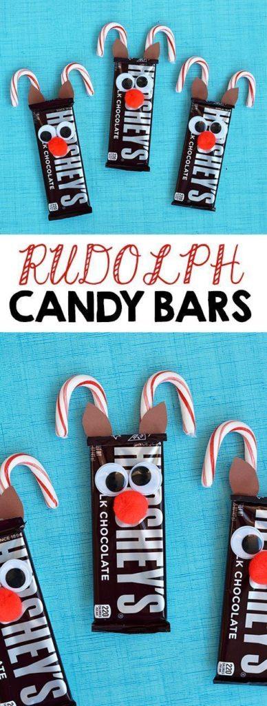 Christmas candy bars