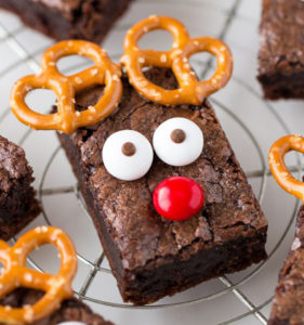 Reindeer looking brownies
