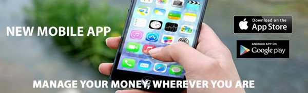 MLFCU Mobile App Banner