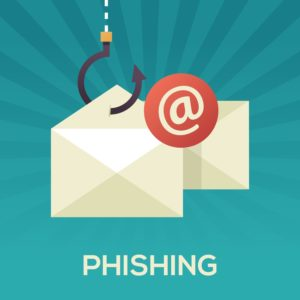 Phishing button