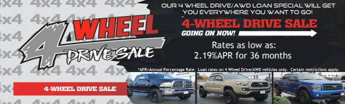 4-Wheel Drive Loan Sale
