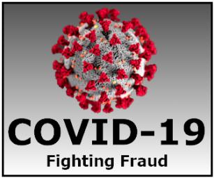Covid-19 Scam Graphic
