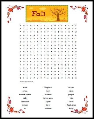 Fall_Word_Search